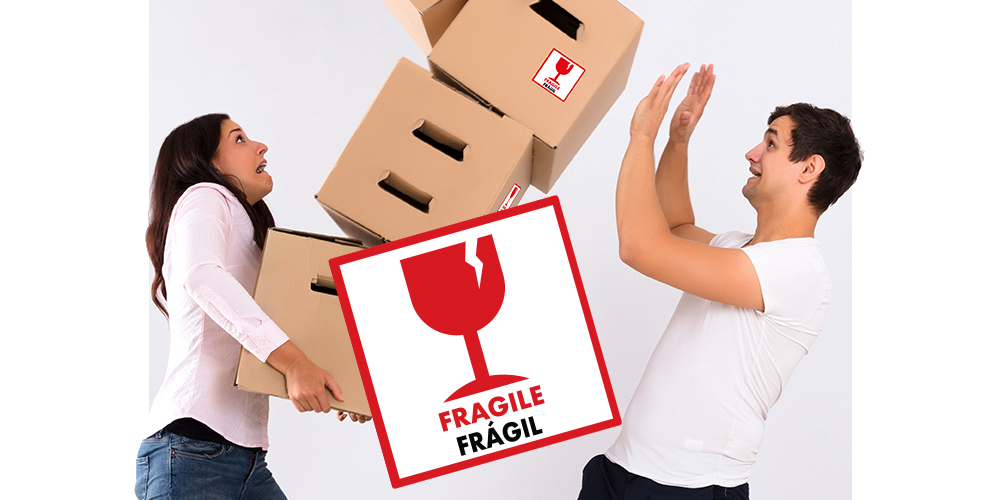 FRAGILE STICKER!