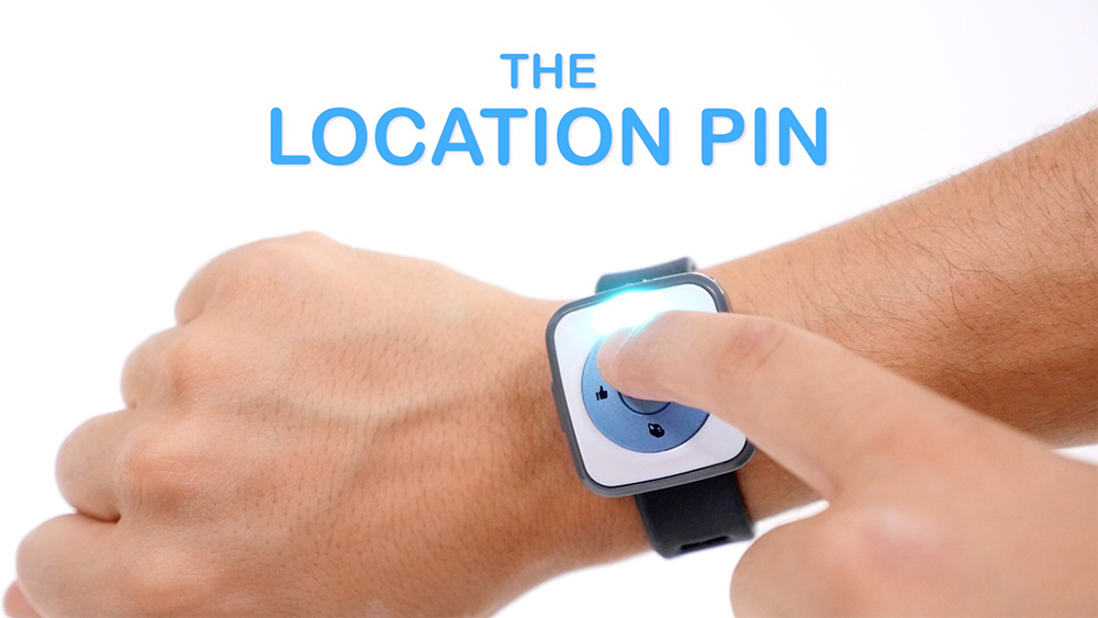 SmartBand Tutorial #3: The Location Pin