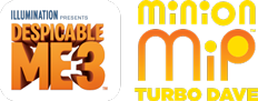 Minion MiP Turbo Dave Logo