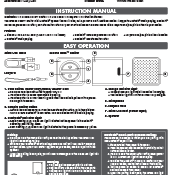 Groove Cube Shutter User Manual Image