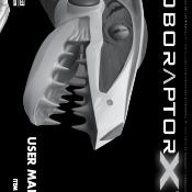Roboraptor X User Manual Image